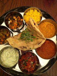 Indian Thali www.thejamtree.com