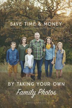 How to save time and money on family photos. I'm dishing all the tips, tricks and tools I've used over the years to take beautiful family photos for our Christmas cards at a fraction of the cost.