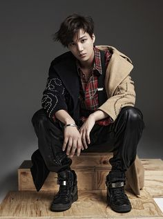 Photographer Moke Najung's website update : NYLON Korea, September 2015 Issue - Kai