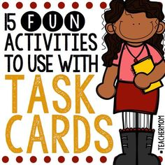 #TeacherMom: 15 Activities to Use with Task Cards