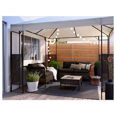 Pergola For Small Backyard Backyard Patio Designs, Backyard Landscaping, Terrazas Chill Out, Garden Sitting Areas, Terrasse Design, Pavillion, Hot Tub Garden, Garden Gazebo, Rooftop Garden