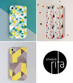 iPhone cases from Studio Rita - @Felicia Davidsson Tompkins Your addiction may be wearing off on me.