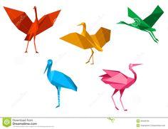 cigogne origami - Recherche Google