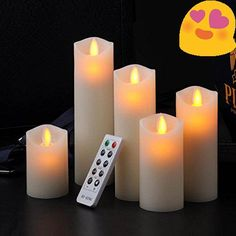 "#stylish Brand #RY-KING Model Number RY-01304 Color Ivory Color Candles come in 5 different sizes 2"" (diameter) x 3"" (height) , 2"" (diameter) x 4"" (height) , 2"" ..."