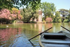 Photo about Villa Borghese gardens and boat, Rome, Italy. Image of gardens, villa, reflection - 7571890 Piazza Navona, Rome Travel, Italy Travel, Voyage Rome, Rome Hotels, Villa, Travel Magazines, Parcs, Animals Of The World