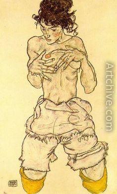 Egon Schiele One of the originators and major influences, VIVA Figurative Expressionism!