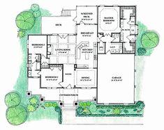 Ambler Floor Plan - good master bedroom/laundry room arrangement
