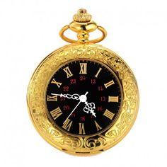 """""""The Gold Miner"""" Pocket Watch Quartz Pocket Watch, Gold Pocket Watch, Classic Definition, Gold Miners, Unisex Fashion, Watch Sale, Jewelry Watches, Accessories, Black"""