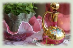 lovely cranberry glass