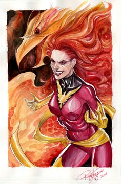 Dark Phoenix by Arzeno