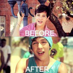 AUSTIN MAHONE strangely enough that was the first video I saw of him...fan since then :)