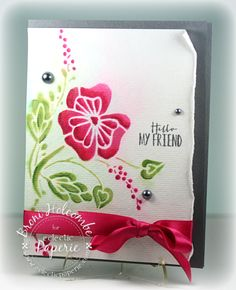 Vintage Floral - Color Throwdown #288 (by Broni Holcombe) #eP, #eclecticPaperie, #Studio490