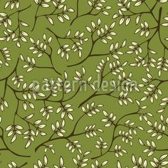 Branches In Spring Vector Pattern Spring Blossom, Vector Pattern, Surface Design, Branches, Badge, Plant Leaves, Delicate, Patterns, Floral