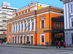 Åbo Svenska Teater - The Swedish Theatre of Turku, 1839. Architect: Carl Ludvig Engel.