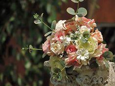 Clarah / Svadobná kytica pre nevestu Vence, Floral Wreath, Wreaths, Home Decor, Flower Crowns, Door Wreaths, Room Decor, Home Interior Design, Floral Arrangements