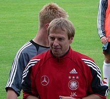 Jürgen Klinsmann – Derutschland Europameister 1996, Weltmeister 1990 Trainer der USA-Auswahl