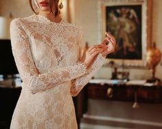 The talented @syedyaqeen is behind the scenes for us at @clairepettibone's @romantiquebride showing at New York Bridal Fashion Week. As always the designs are stunning! #sobridaltheory #wedding #weddingdress #weddinginspo #nybfw #love  #nyc #fashion #lace #bride #inspire #engaged #engagement by thebridaltheory