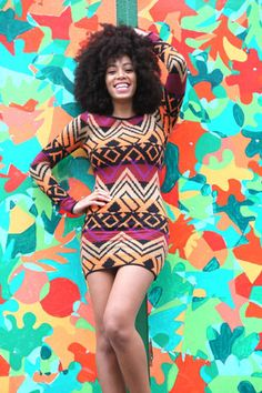 I LOVE this woman...my fashion/style/hair inspiration! #Solange @SolangeKnowles