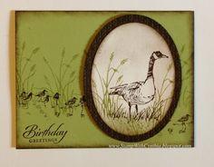 Stamp With Cynthia: Wonderful Wetlands!
