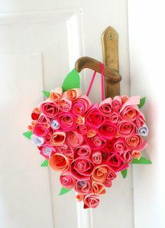 Basteln zum Valentinstag - liebevolle DIY Projekte fürs Zuhause  - http://freshideen.com/valentinstag/basteln-zum-valentinstag.html