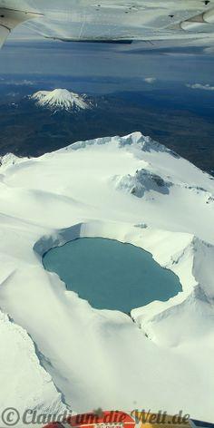 Rundflug über Tongariro Nationalpark und Vulkane, Neuseeland