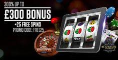 LADBROKES CASINO - 25 FREE SPINS and £300 WELCOME BONUS !!! - UK Casino List