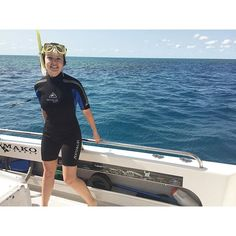 Snorkelling on the Great Barrier Reef today was incredible!!!!  Even if the wetsuit did give me horrifying flashbacks to wearing a unitard... #greatbarrierreef #whitsundays #snorkeling #queenslandlife #wetsuittime #snorkletime #renegade #boatdays #heavenonearth #somanyfish #findingnemo by fgrimmer http://ift.tt/1UokkV2