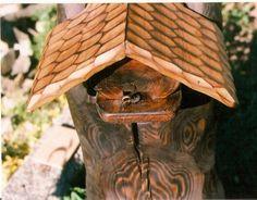 Hodiny, zrcadla, pendlovky, sochy, skulptury, okrasné rostliny - Fotoalbum - Domečky - úly - úl pro čmeláky