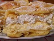 Gourmet Chicken, Chicken Soup, Angel Cake, Angel Food Cake, Rhubarb Sauce, Fried Potatoes, Dumplings, Apple Pie