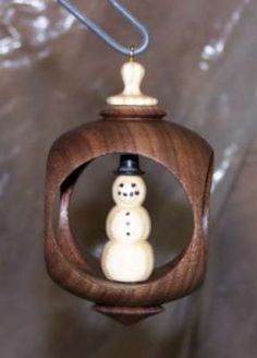 """""""Inside Out"""" Turning Alternative - Christmas Ornament - Canadian Woodworking and Home Improvement Forum"""