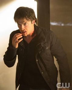 """The Vampire Diaries -- """"Down the Rabbit Hole"""" -- Pictured: Ian Somerhalder as Damon -- Image Number: VD414c_0449.jpg -- Photo: Bob Mahoney/The CW -- © 2013 The CW Network, LLC. All rights reserved."""
