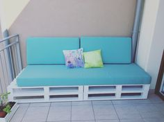 DIY sofa. By me.  Think before you decide to do something like this, not as easy as it seems...