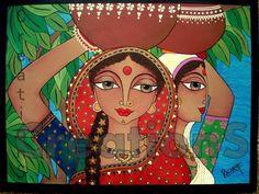 Rachana Saurabh CreationS - The Essence of Arts: Panihari : The water woman of India