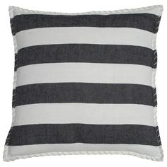 Pom Pom at Home Marina Black Decorative Pillow