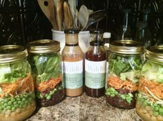 Delicious healthy lunches made for the week w/Wildtree!