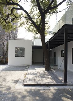 Pump House Renovation is a minimalist residence located in Shanghai, China, designed by NAN Architects. Pump House, Exterior, Pumps, Terraces, Architecture, Gallery, Building, Outdoor Decor, Modern