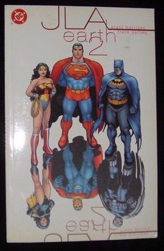 JLA The Justice League Earth 2 DC Comics New softcover Paperback Book
