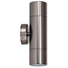 Titanium Gloss Wall Light Outdoor Up/Down for sale online Exterior Lighting, Outdoor Wall Lighting, Shop Lighting, Pillar Lights, Wall Lights, Wall Lantern, Light Sensor, Outdoor Areas, Appliques