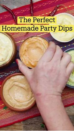Fun Baking Recipes, Cooking Recipes, Homemade Sauce, Dips, Diy Food, Sauce Recipes, Yummy Food, Tasty, Food Hacks