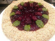 Cheese cake frutas silvestres
