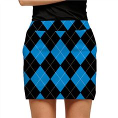 b95a64483 Black & Blue Argyle Womens Skort by Loudmouth Golf Golf Irons, Best Golf  Clubs,