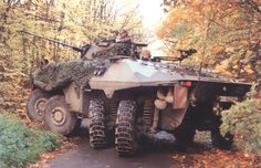 German Army Bundeswehr Luchs 8x8 amphibious reconnaissance armoured fighting vehicle