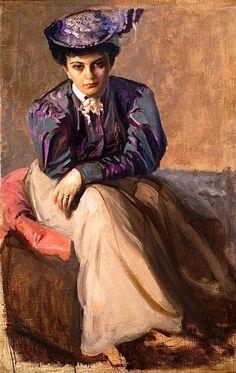 Leon Wyczółkowski - Sophia Cybulska