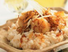 Le risotto aux Saint Jacques Il suffit de snacker vos Saint Jacques avant de les ajouter à votre risotto ! Découvrir la recette du risotto aux Saint Jacques