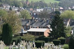 Looking across Chesham from the cemetery. Photo by N Metcalfe