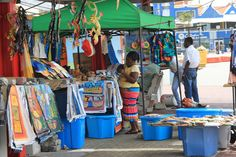 craft booth, curacao