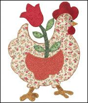 Happy Quilter  a good chook