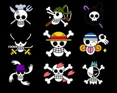 One Piece Encyclopedia is a database that anyone can edit about the Shonen Jump anime and manga series One Piece created by Eiichiro Oda, that features Monkey D. Luffy and other pirates. One Piece Logo, One Piece Crew, One Piece Tattoos, Anime One, I Love Anime, Manga Anime, One Piece Manga, Logo Manga, Wallpaper Caveira