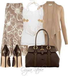 """""""Sunday Brunch"""" by orysa ❤ liked on Polyvore"""