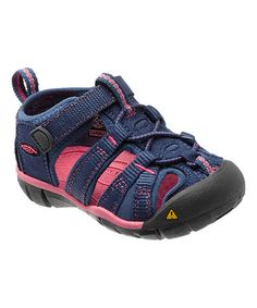 Another great find on #zulily! Ensign Blue & Camellia Rose Seacamp II CNX Sandal by KEEN #zulilyfinds